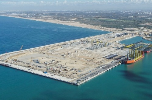Steconfer - Hadarom Container Terminal, Port of Ashdod (1)
