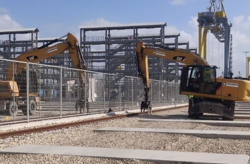 Steconfer - Hadarom Container Terminal, Port of Ashdod (6)