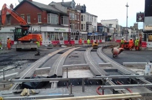 Steconfer - Blackpool Tramway Extension (1)